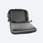 Tablet Carrying Case with Compact USB Keyboard Kit